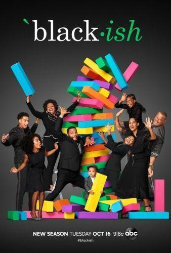 "Black-ish Season 5 TV Series Poster Art Print 13x20/"" 24x36/"" 27x40/"""