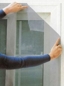 Moustiquaire-pour-Fenetre-100-X-100-cm-Gris-Filet-A-Insectes-Protection