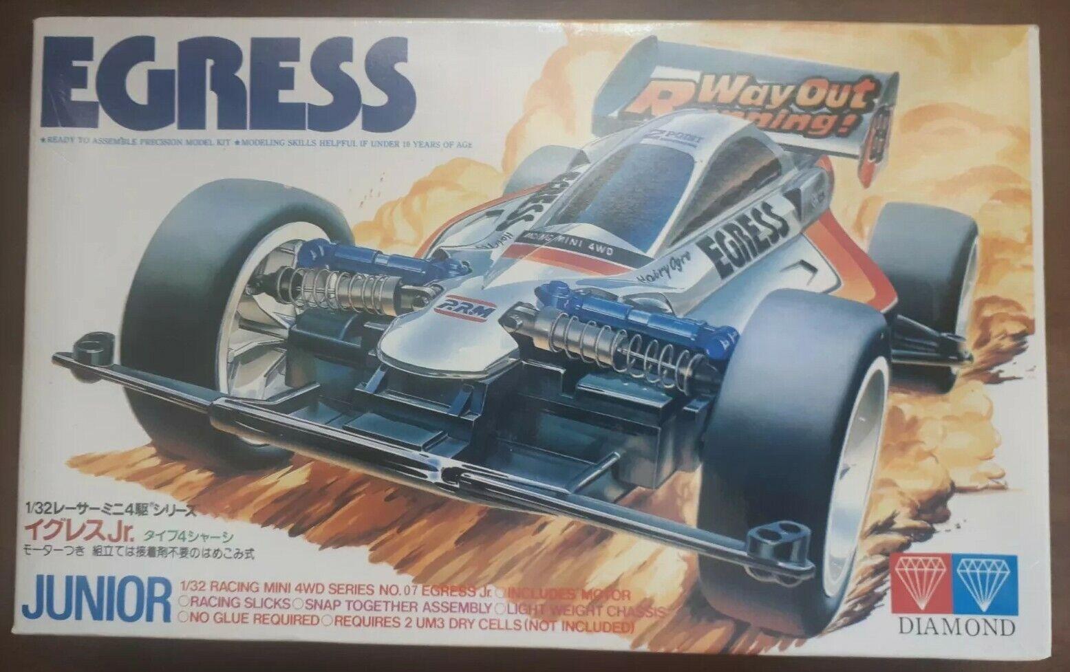 1993 Diamond Egress Junior 1 32 Scale Model no. 07 item. 18013, new, open box