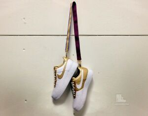 super popular 06bcd 9bfba Image is loading Nike-Air-Force-1-Low-Supreme-TZ-Gold-
