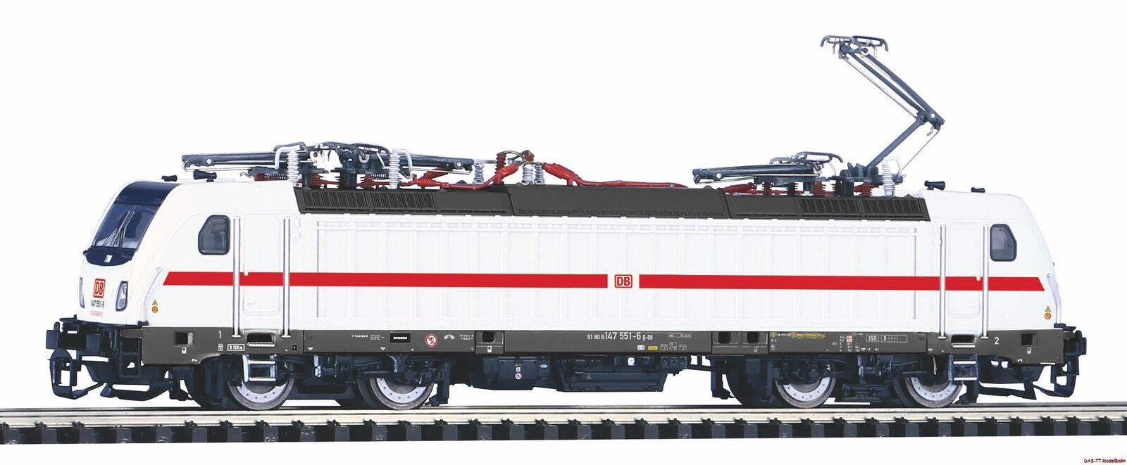 TT E-Lok BR 147.5 DB AG IC EP. vi PIKO 47454 NUOVO