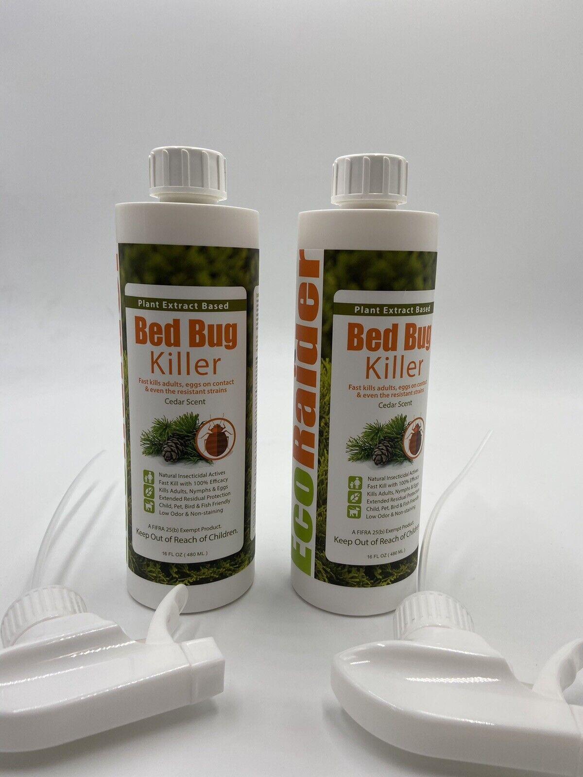 Ecoraider Bed Bug Killer Spray 16 Oz Green Non Toxic 100 Kill Extended Pr For Sale Online Ebay