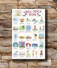 B-619 ABC ALPHABET CHART Kids Education English 12x18 24x36 27x40 Fabric Poster