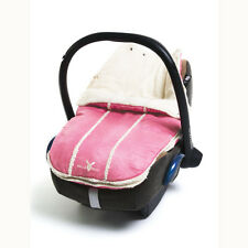 New Wallaboo Newborn Footmuff - Car Seat/Pram Liner - Pink - 0-12 months