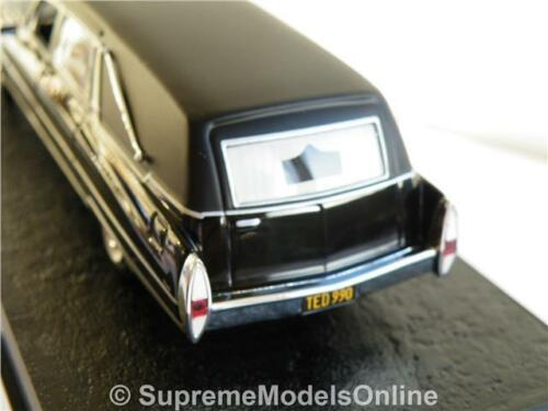 JAMES BOND CADILLAC HEARSE DIAMONDS ARE FOREVER CAR MODEL 1//43RD ISSUE K8967Q~#~