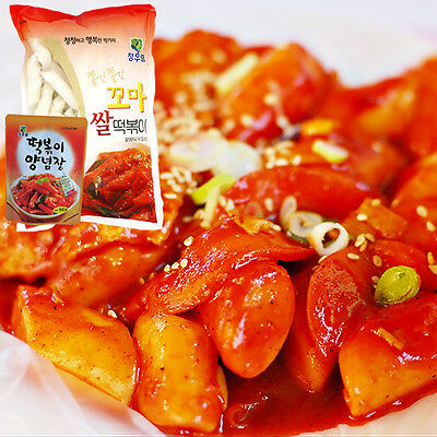 Gangwon,Korean TTEOKBOKKI+Sweet Sauce,Rice Cake,Not spicy, Traditional Food