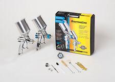 DEVILBISS Spray Paint Gun Kit 802343 HVLP 2 FULL SIZE Guns NEW!