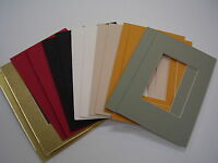 Picture Frame Mat 4x6 For Small Photo Or Aceo 40 Special Color Assortment