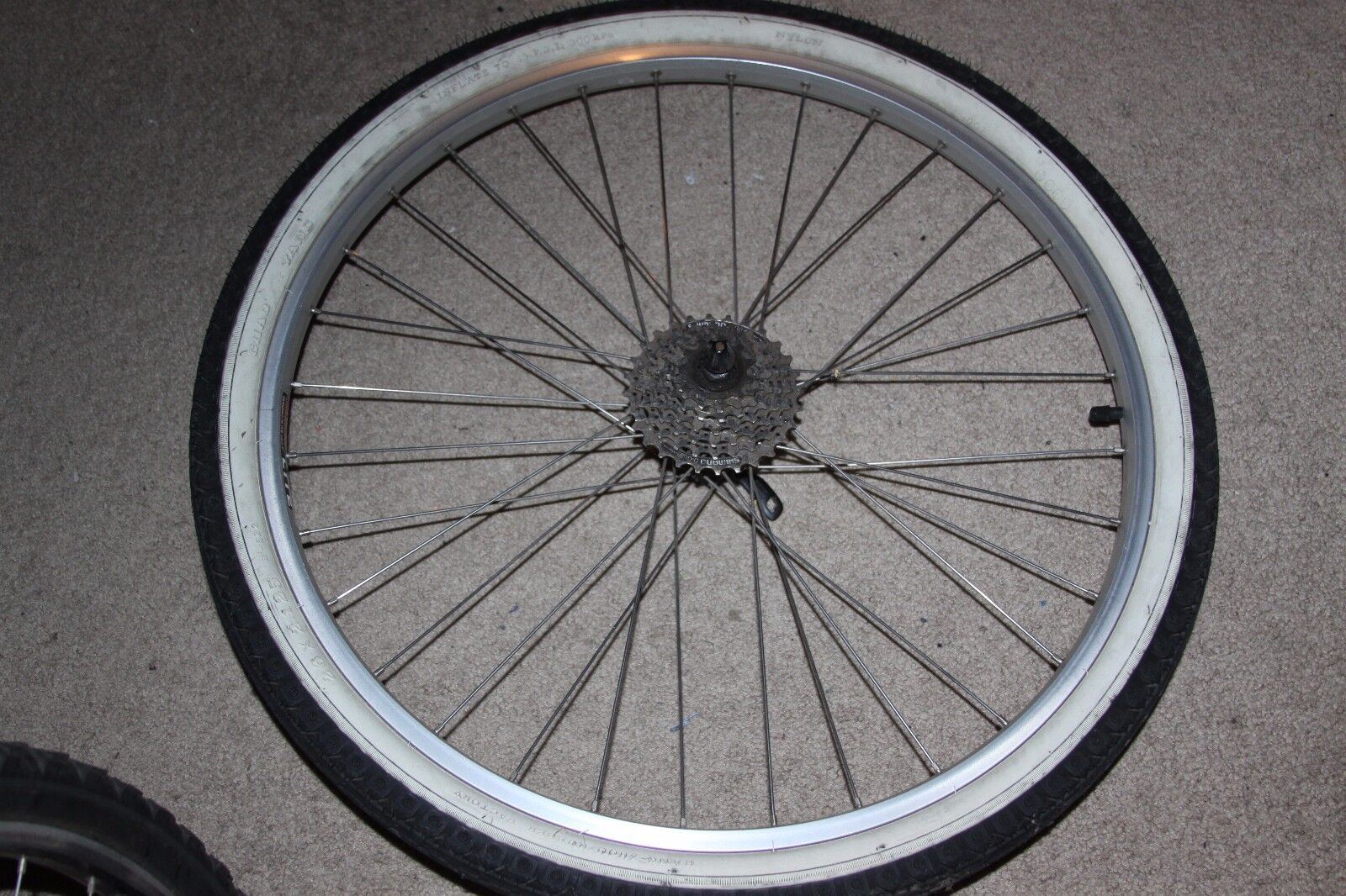 Used Rear Wheel 26 , Sunrims Rhyno Lite, Shimano Deore FH-M510 VIAM