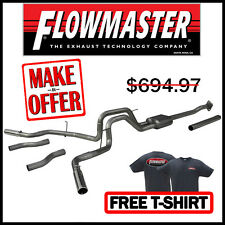 FLOWMASTER 2009-2014 Ford F150 American Thunder Cat Back Dual 409SS Exhaust Kit