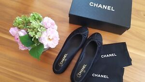 Chanel-Ballerinas-Leder-mit-Boucle