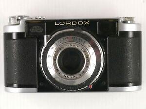 Analogkameras Lordox Fa Leidolf Wetzlar Mit Trioplan 2,8/50 Mm