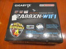 GIGABYTE GA-F2A88XN-WIFI MB, FM2+ AMD A88X DDR3 SATA3 HDMI m-ITX, F7M07