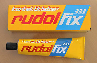 Baustoffe & Holz Kleber WohltäTig Rudolfix 333 Kleber Leder Holz Metall Textilien Gummi Filz Schaumstoff Tube100 G Kunden Zuerst