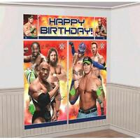 Wwe Scene Setters Wall Decorating Kit -