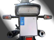 LED luz trasera luz trasera Weiss yamaha xj-600 xj-900 n/s diversion clear Tail