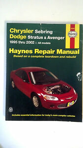 Haynes-Chrysler-Sebring-Dodge-Stratus-and-Avenger-1995-2002-by-John-Harold