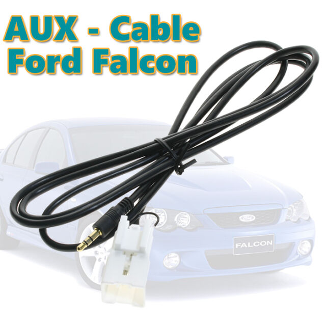 Ford Ba-Bf Falcon Car Stereo Radio Aux In iPod MP3 Auxiliary Adaptor Lead Cable