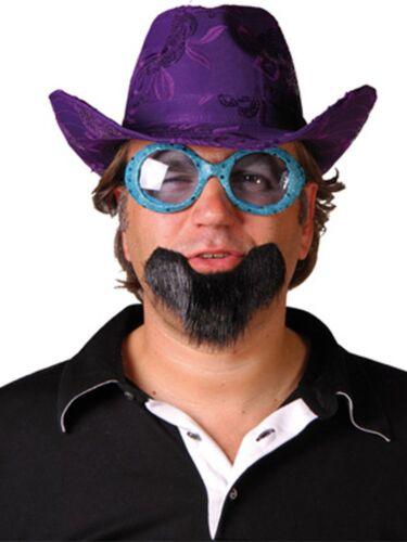 Falscher Bart Kinnbart schwarz Spaßbart unechter Bart