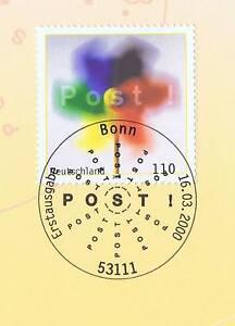 Capable Rfa 2000: Post-éolienne Nr 2106 Avec Propre Bonner Ersttags Cachet Spécial 1a 1610-stempel 1a 1610fr-fr Afficher Le Titre D'origine