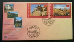 [SJ] United Nations World Heritage - Spain 2000 (stamp FDC)