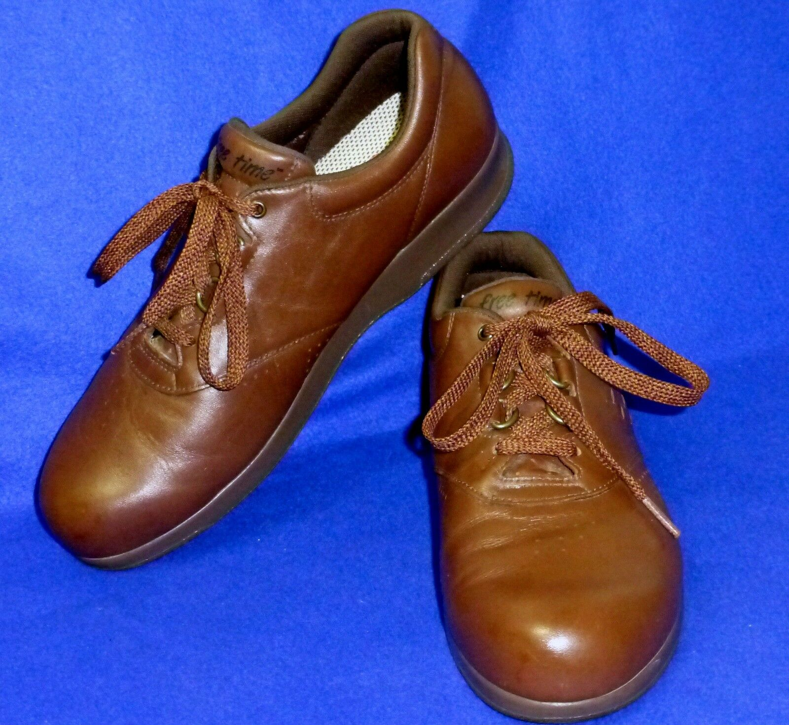 MINTY MINTY MINTY 9.5 N SAS BROWN FREE TIME SHOES WOMENS 315086