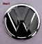 Folierung-Set-schwarz-chrom-passt-fuer-Heck-VW-Emblem-Golf-VII-5G-ab-2013 Indexbild 4