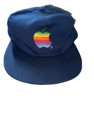 Vtg Macintosh Apple Computers Hat