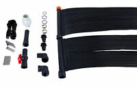 2'x20 Solar Panel For In-ground & Above Ground Pools W/ground Rack Mounting Kit on sale