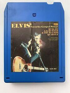 J.D. Sumner Elvis Favorite Gospel Songs (8-Track Tape)