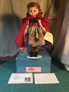 Madame-Alexander-Red-Riding-Hood-24617-14-Doll-made-1995-Only