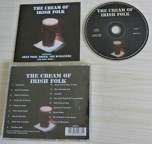 CD-ALBUM-THE-CREAM-OF-IRISH-FOLK-18-TITRES-1999-THE-CELTIC-COLLECTION