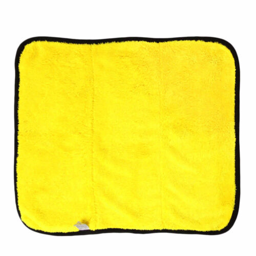 Super Absorbent Microfiber Towel Car Cleaning Wipes Wash Drying Coral Velvet
