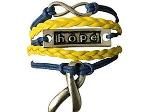 Image Is Loading Down Syndrome Awareness Blue Amp Yellow Ribbon And