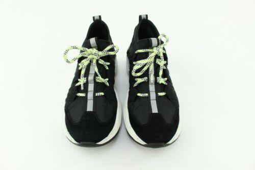 Balmain Mujer Negro corredores Zapatillas Tenis De Entrenamiento Talla 34 Reino Unido 1
