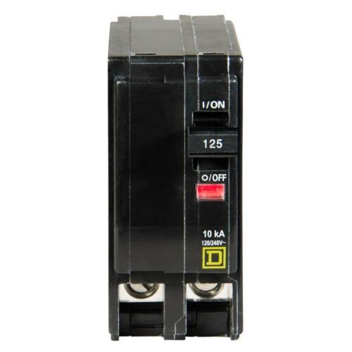 Square D QO2125 2 Pole Circuit Breaker