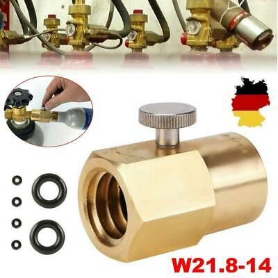 CO2 Adapter W21.8-14 Az Zur Befüllung Von Sodastream Soda Club Wassersprudler