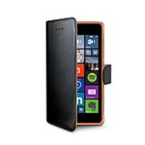 Flip Cover Custodia Libro Book Wallet Celly Apple Iphone 4 Bianco