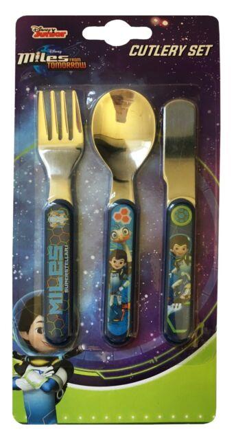 Teenage Mutant Ninja Turtles 3pc Mealtime Cutlery SetKnifeForkSpoon
