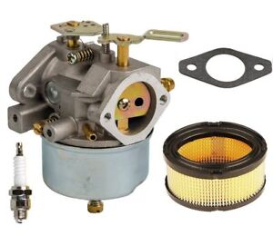 carburetor with air filter kit for tecumseh 632370a hm100 ... fuel filter for tecumseh hm100