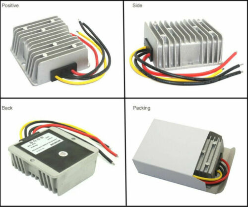 8-40V to 12V 72W Car Power Supply Regulator Automatic Voltage Stabilizer Convert
