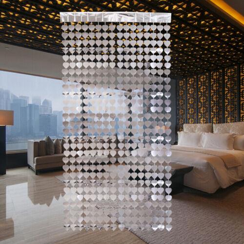Party Backdrop Curtains Gold Tinsel Fringe Foil Curtain Decoration Decor HS