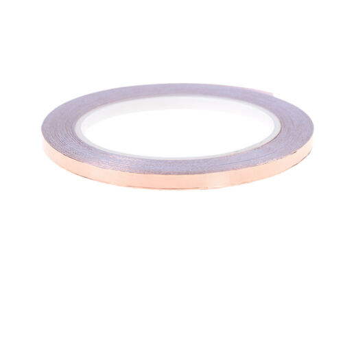 6mm x 20m Single Face Adhesive Electric Conduction Copper Foil Tape fash_TI
