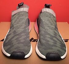 4d2d87e3f3e19 Adidas Women s NMD CS2 Primeknit Shoes Size 7 Trace Green Pink White BY8781