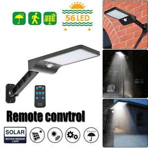 36-60LED-solaire-capteur-de-mouvement-mur-lumiere-exterieur-Lampadaire-de-jardin-impermeable