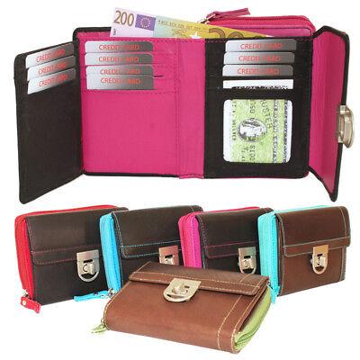 Damen Geldbörse Damenbörse Portemonnaie Geldbeutel Riegelbörse 11 Kartenfächer