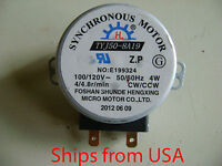 Microwave Oven Tyj50-8a19 Tyj50-8 Turntable Turn Table Synchronous Motor