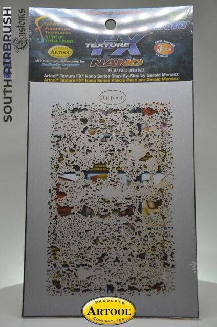 Artool Texture FX3 Mini Airbrush Schablonen Set FHTFX3MS