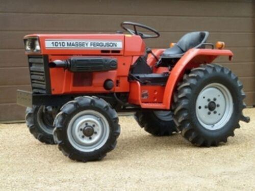 Massey Ferguson 1010 /& 1020 Tractor compacto Manual de taller