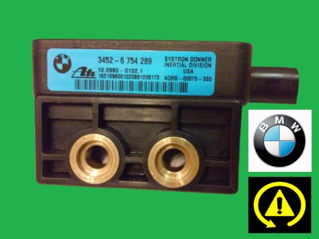 BMW 3 Series E46 Z3 DSC Yaw Rate Acceleration Speed Sensor 3452-6 754 289